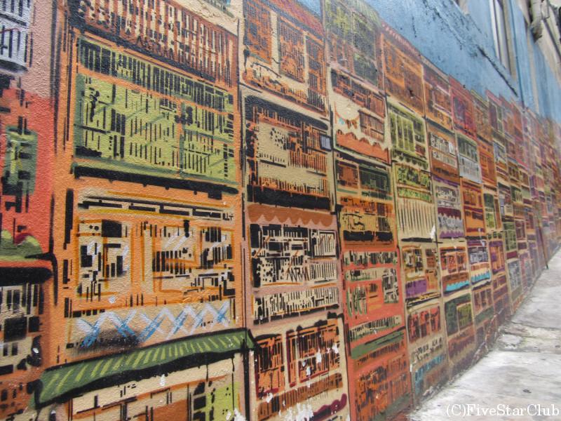 ハリウッドstのストリートアート