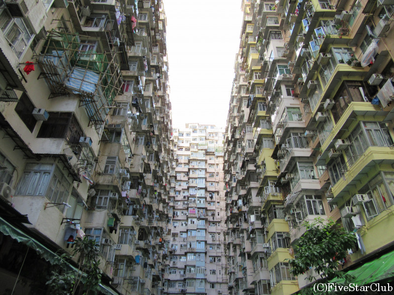 香港集合住宅(Quarry Bay)