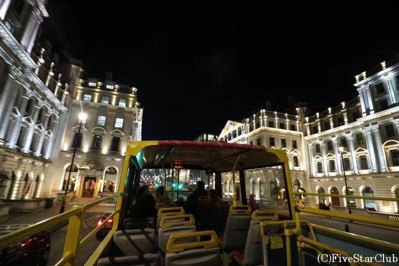 ロンドンの夜の街並み
