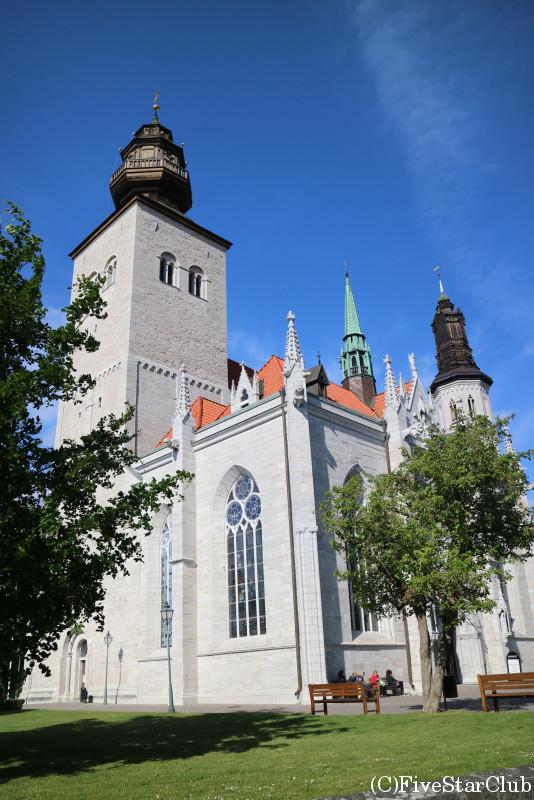 ヴィスビィの街を散策 サンタマリア大聖堂