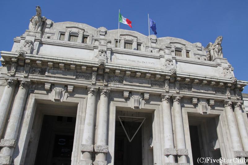 ミラノ中央駅 外観