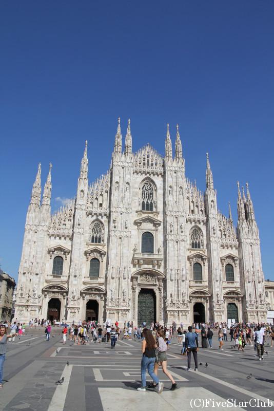 イタリア最大のゴシック教会 ドゥオーモ