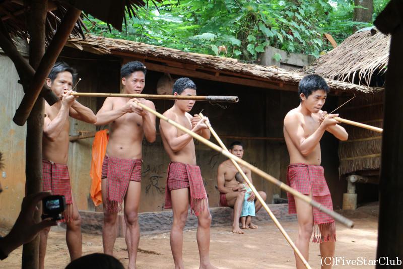 バラフライ・ガーデン/先住民族の紹介