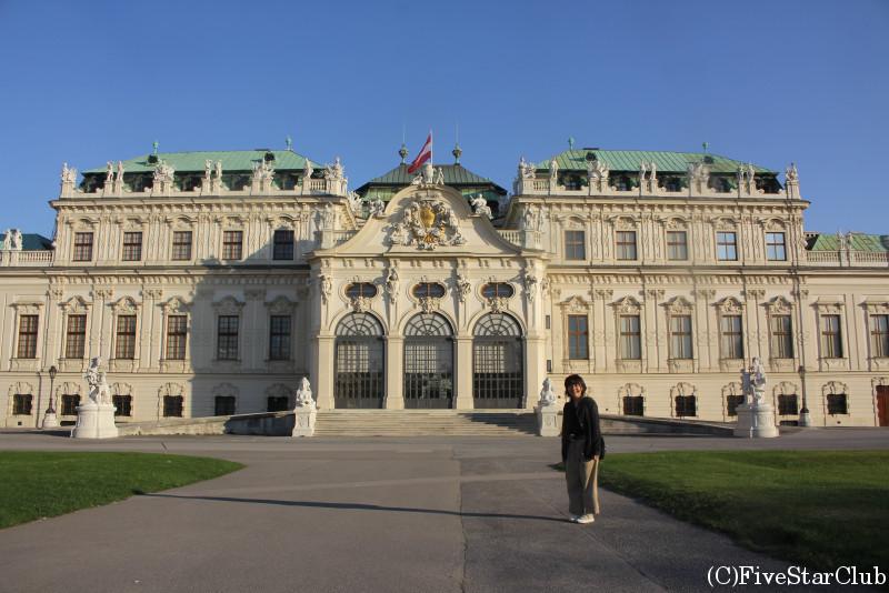 ベルヴェデーレ宮殿とわたし