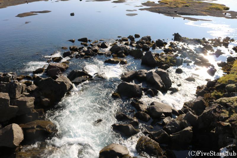 シングヴェトリル国立公園/(地球の割れ目ギャウ)