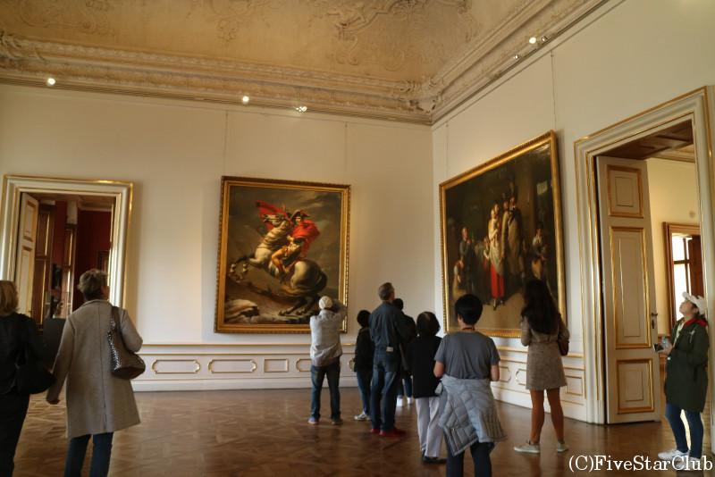 ベルヴェデーレ宮殿 上宮の内部