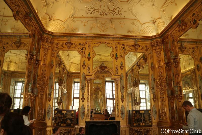 ベルヴェデーレ宮殿 下宮 内部