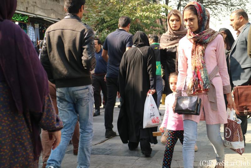 テヘランの女性