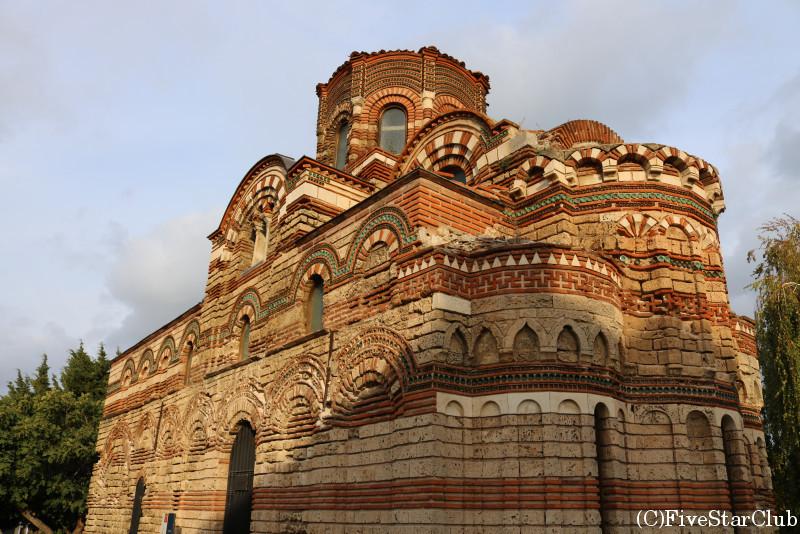 世界遺産・ネセバルの旧市街/聖パントクラトール教会