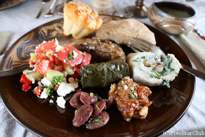 カヴァルナ歴史博物館/ブルガリアの民族料理