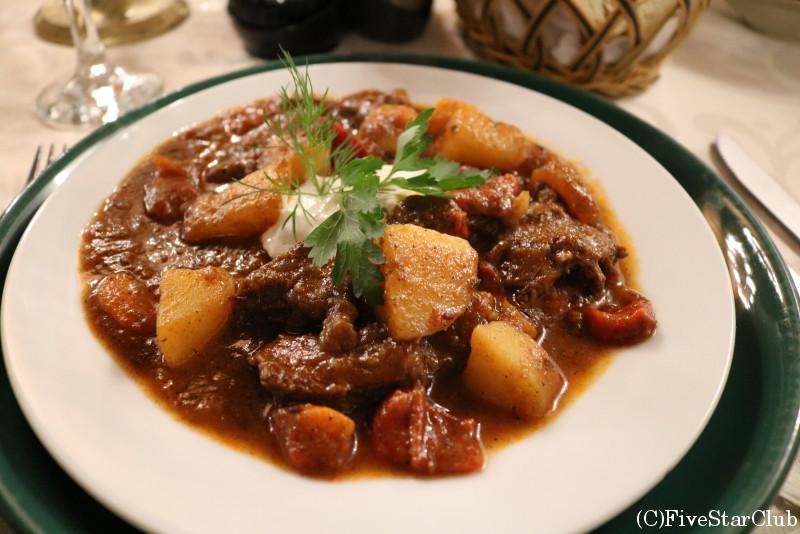 ドラキュラレストラン「カサ・ヴラド・ドラクル」/血のスープ(トマト味)