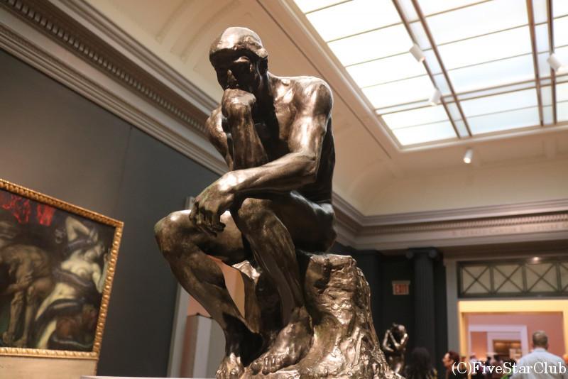 膨大な貯蔵数を誇るメトロポリタン美術館 小さな「考える人」