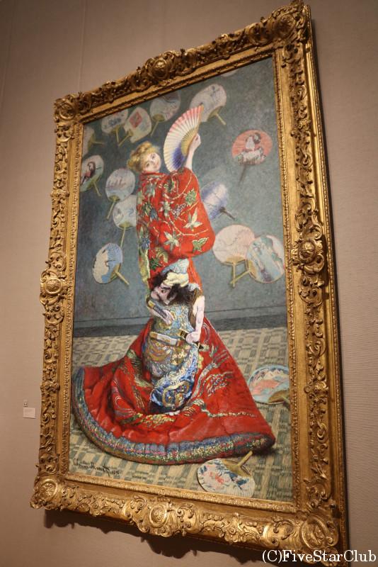 ボストン美術館 間近で見る有名なモネの『ラ・ジャポネーズ』
