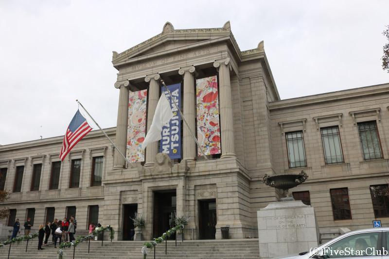 ボストン美術館 入口