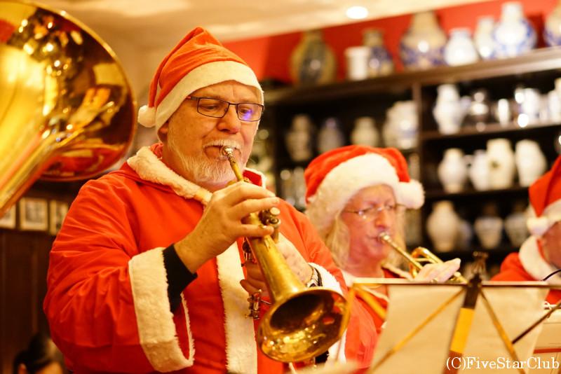 レストランDAHEIMにてクリスマスコンサート