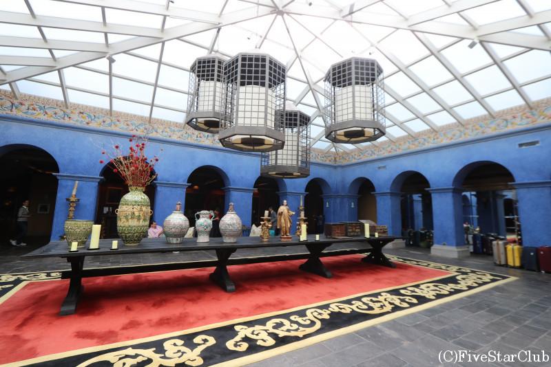 パラシオ・デル・インカのレセプション
