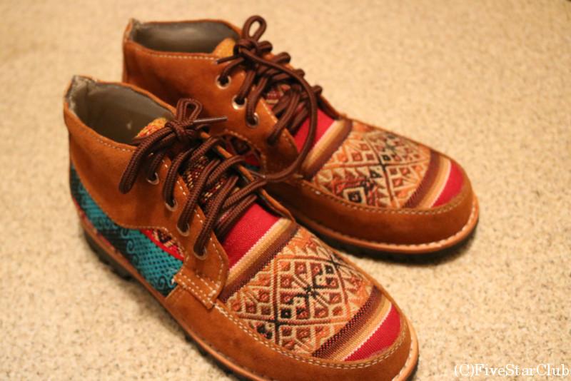 靴職人ホルヘさんのお店で作ってもらった靴