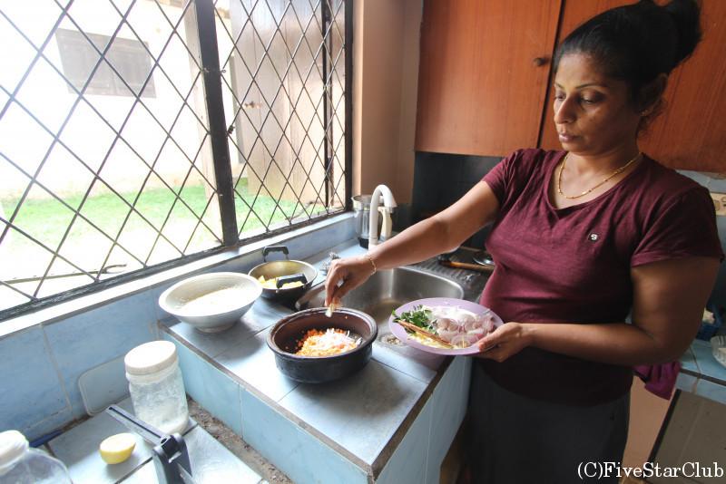 スリランカ家庭料理レッスン