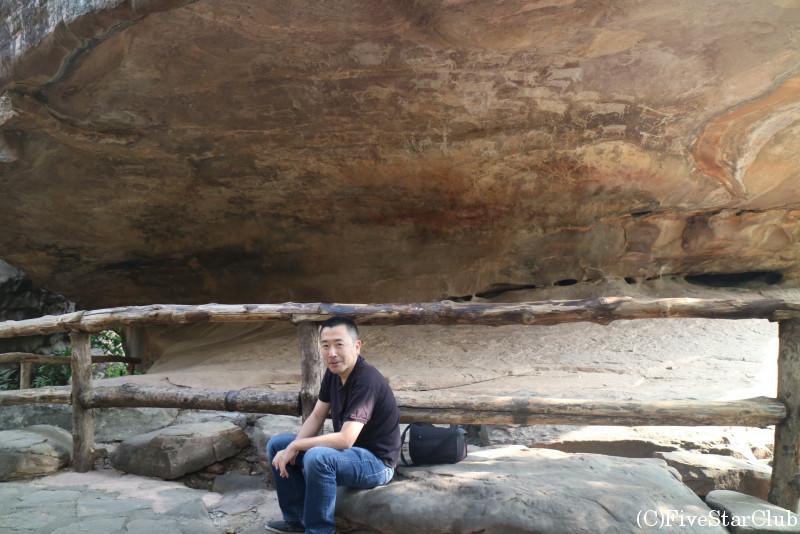 ビーマベトカの岩陰遺跡・第4窟