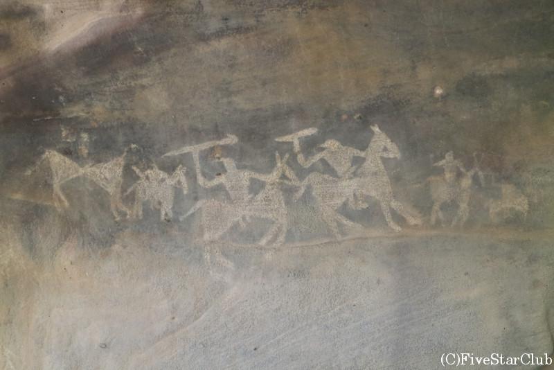 ビーマベトカの岩陰遺跡・第7窟
