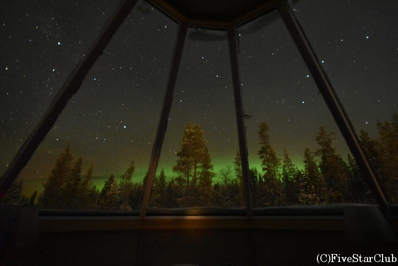 ノーザンライトヴィレッジ オーロラルーム オーロラ観測