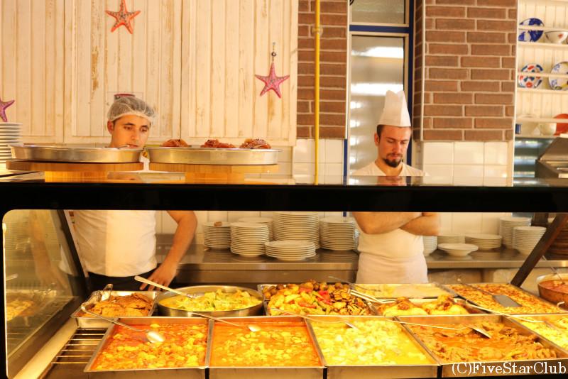 アラチャト料理のレストラン