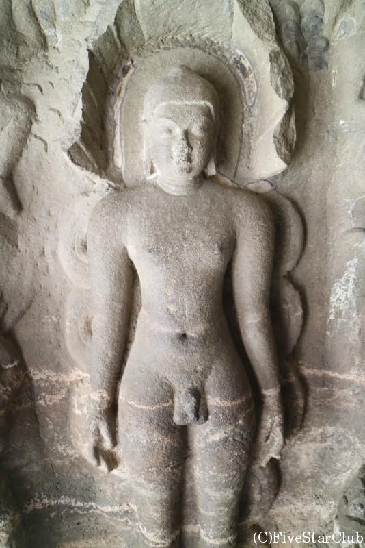 世界遺産エローラの石窟寺院 第30〜34石窟はジャイナ教寺院