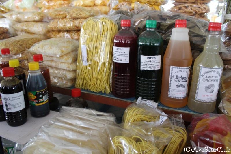 マーケット(インドネシアの食材も・・・)