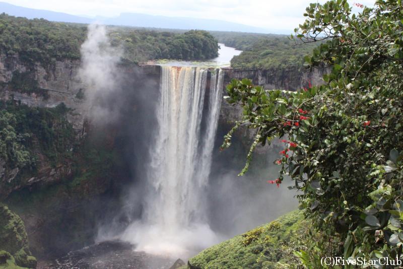カイエチュール滝