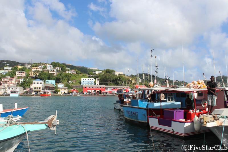 街並みと美しい港