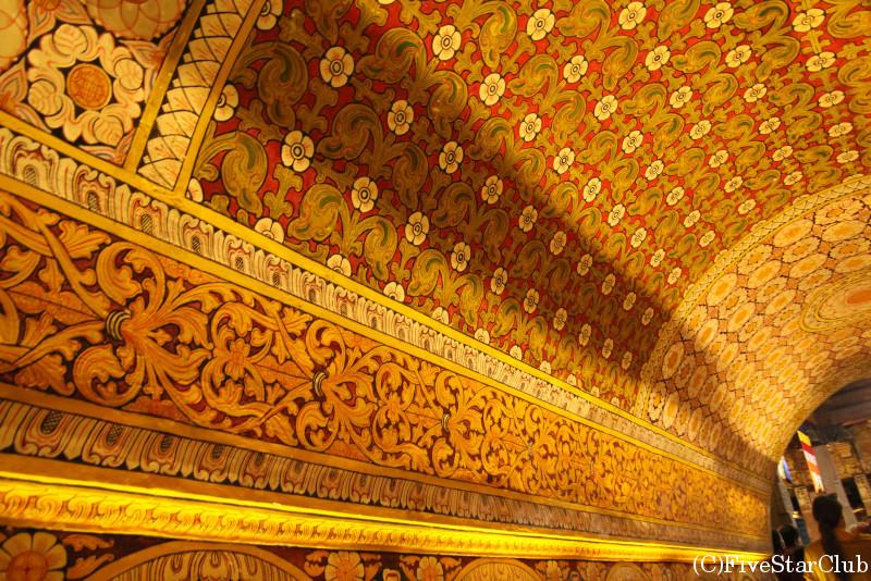 仏歯寺の装飾