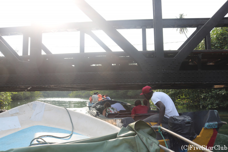 マングローブのボート・クルーズ