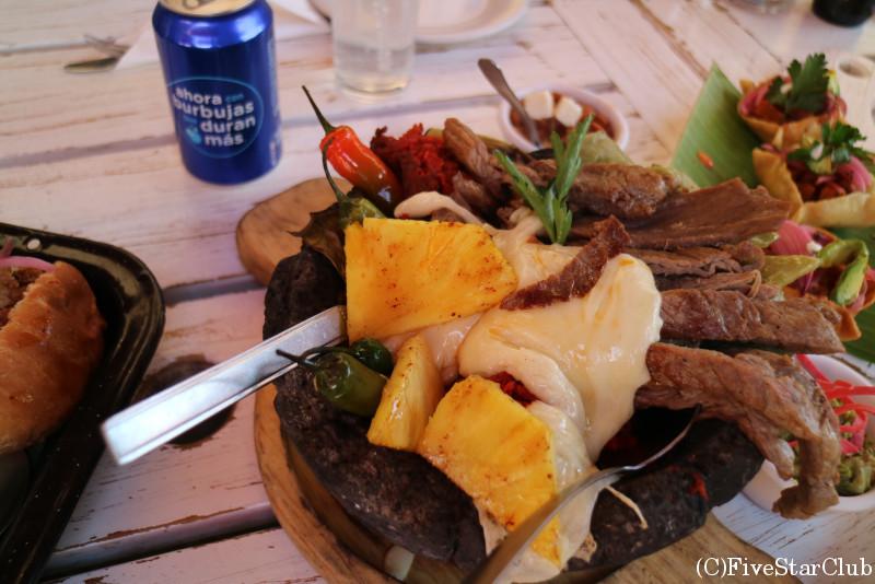 グアナファトの石焼料理