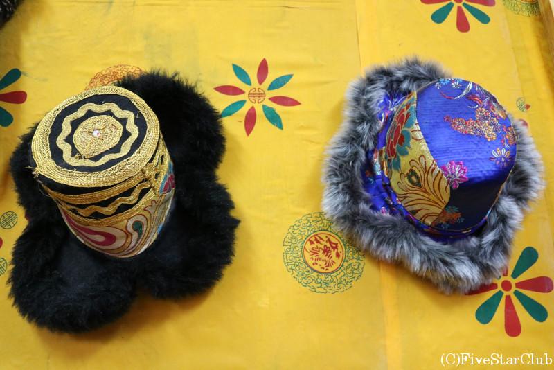 ブータン人のお宅(ホームステイ)帽子