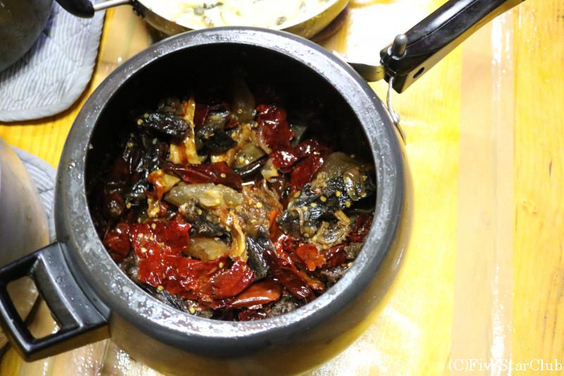 ブータン人のお宅(ホームステイ)ブータン家庭料理
