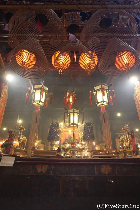 香港最古の廟の文武廟