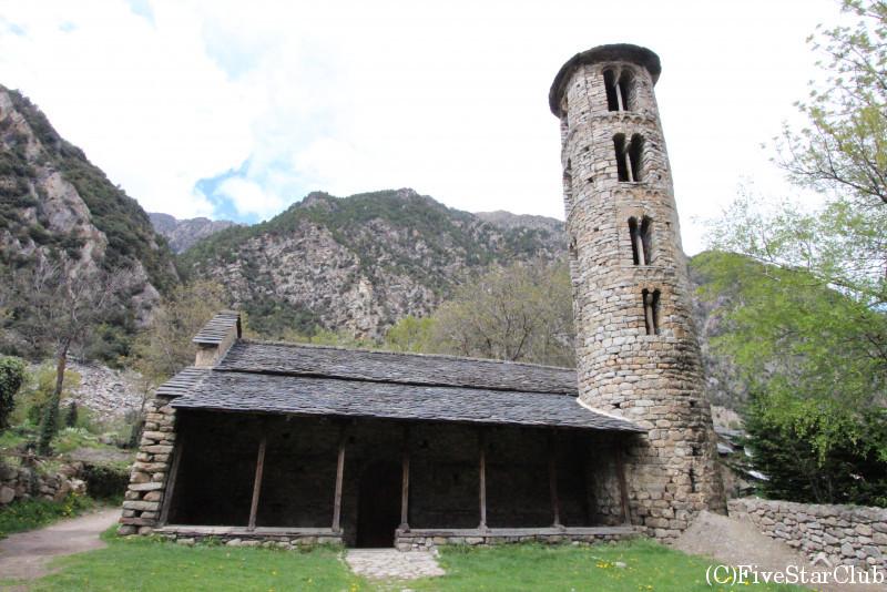 サンタ・コロマ教会
