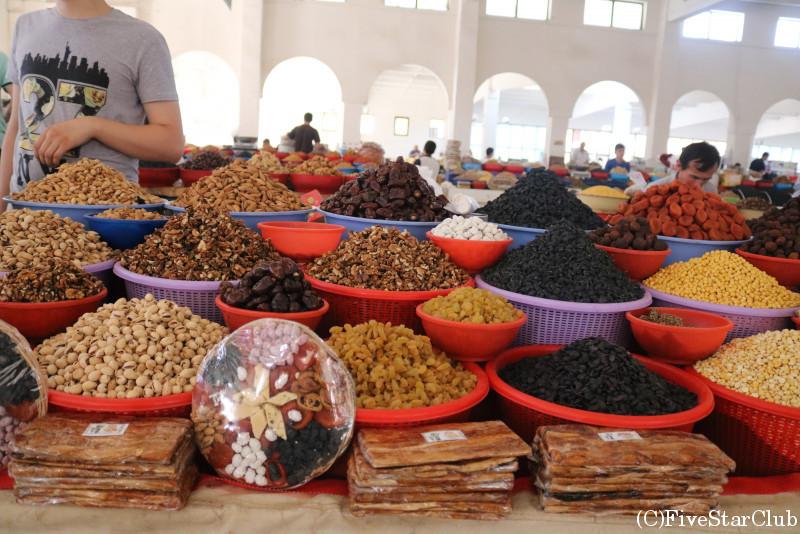 ブハラ市民の台所「デフコンバザール」