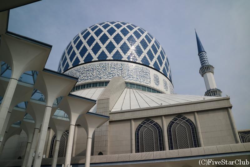 ブルーモスク モスクの屋根