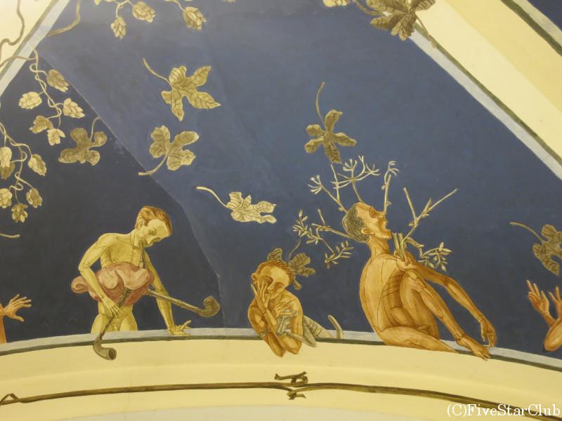 ビリニュス大学 四季のフレスコ画