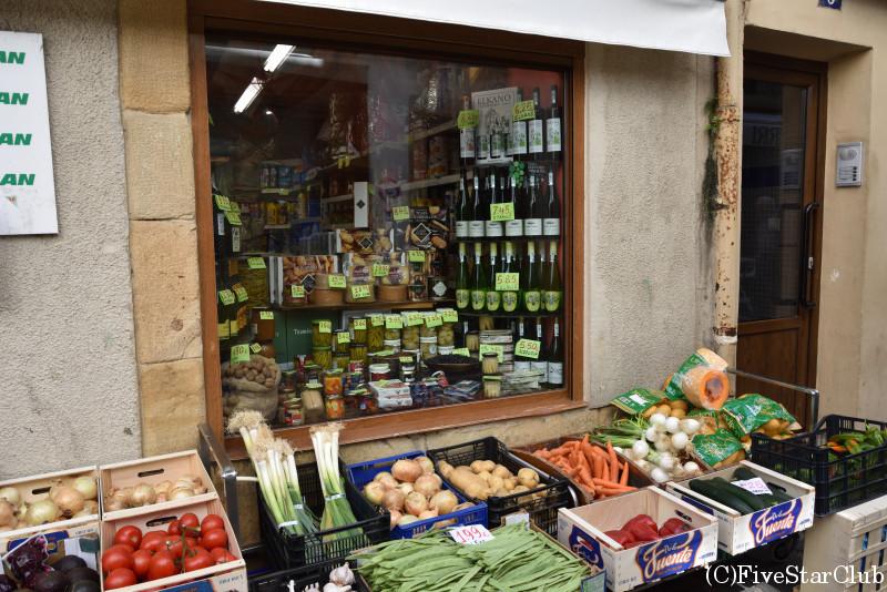 ゲタリアの街並み 旧市街地