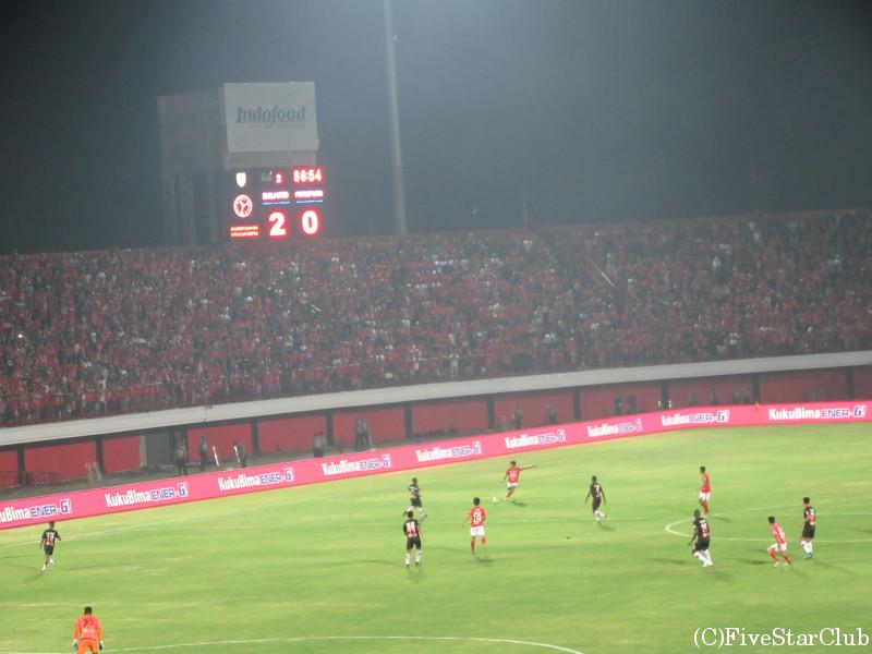インドネシアサッカー観戦