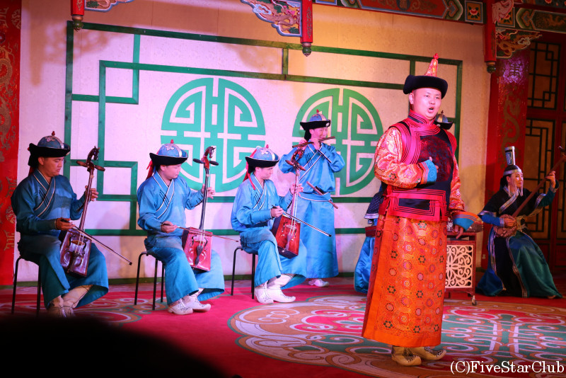 モンゴル民族舞踊コンサート鑑賞