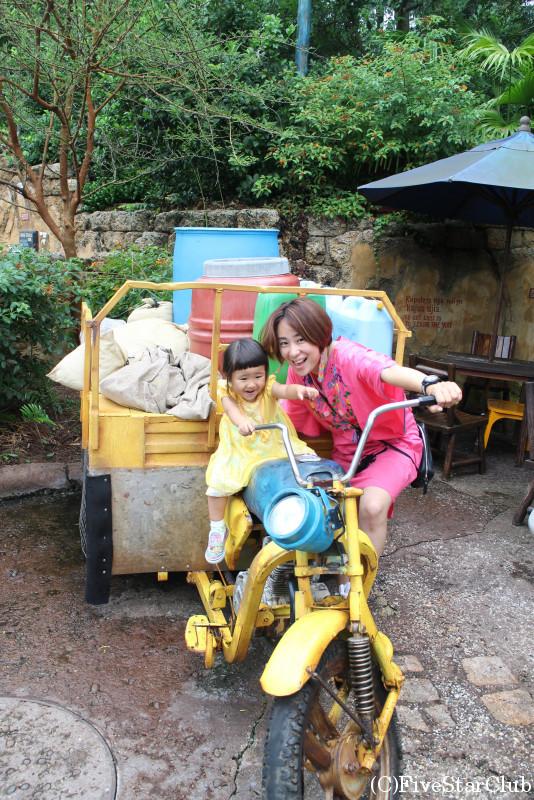 バイクに乗ってみる