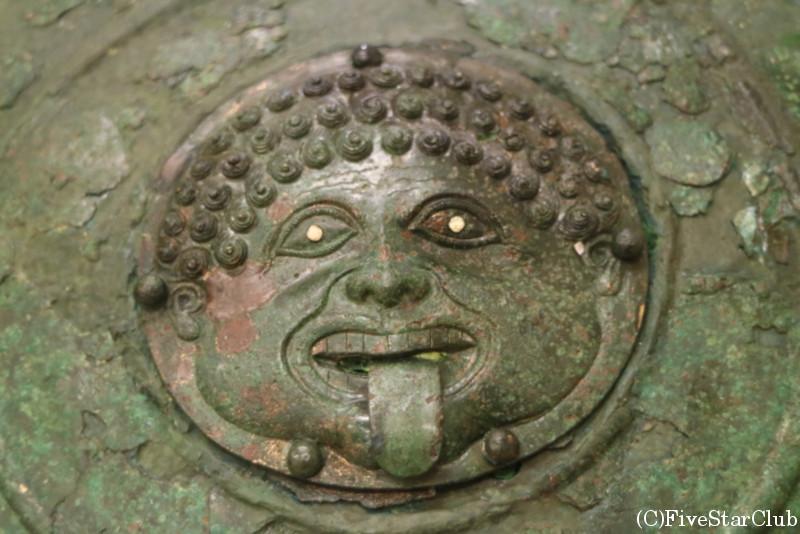 アポロニア遺跡の博物館