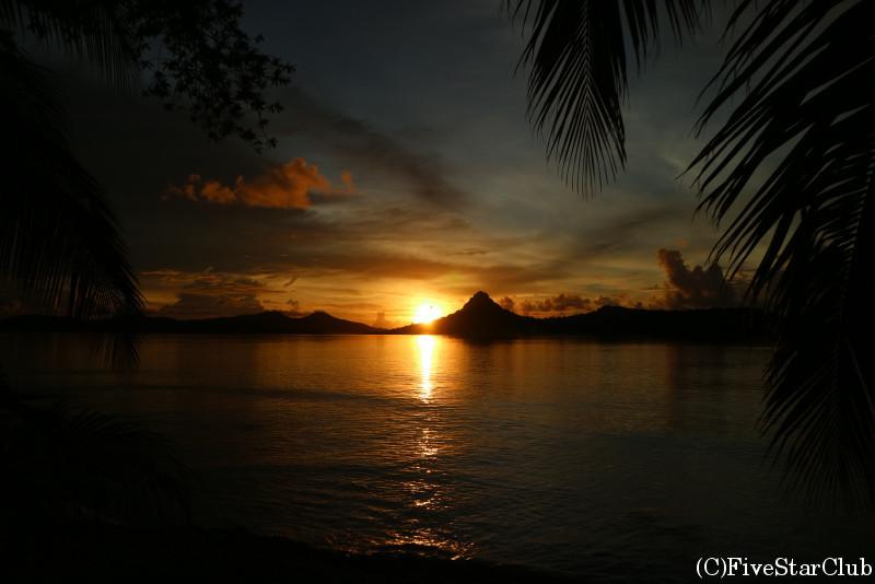 フェノム島では夕日を眺めながらのんびり過ごしたい