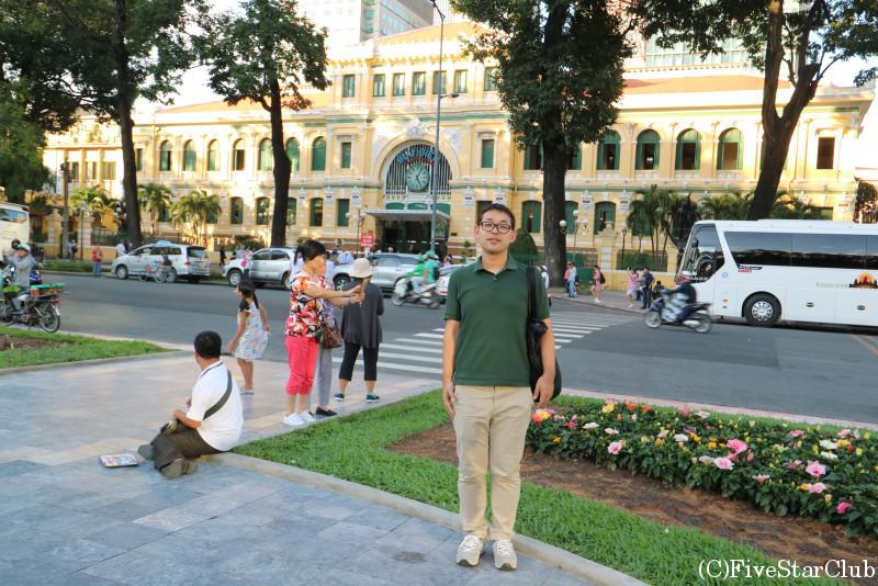 サイゴン中央郵便局と私