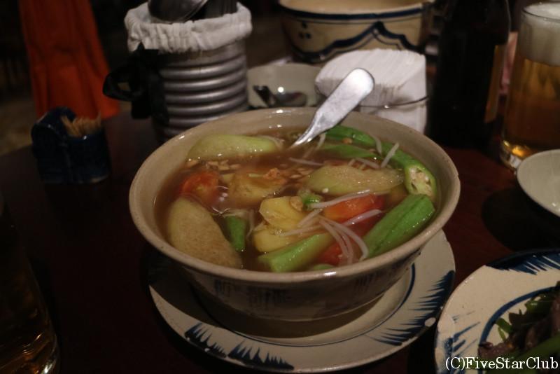 エビのメコンサワースープ/クック ガック クアン