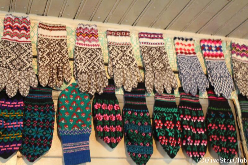 キフヌの民芸品