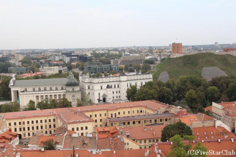 旧市街の展望